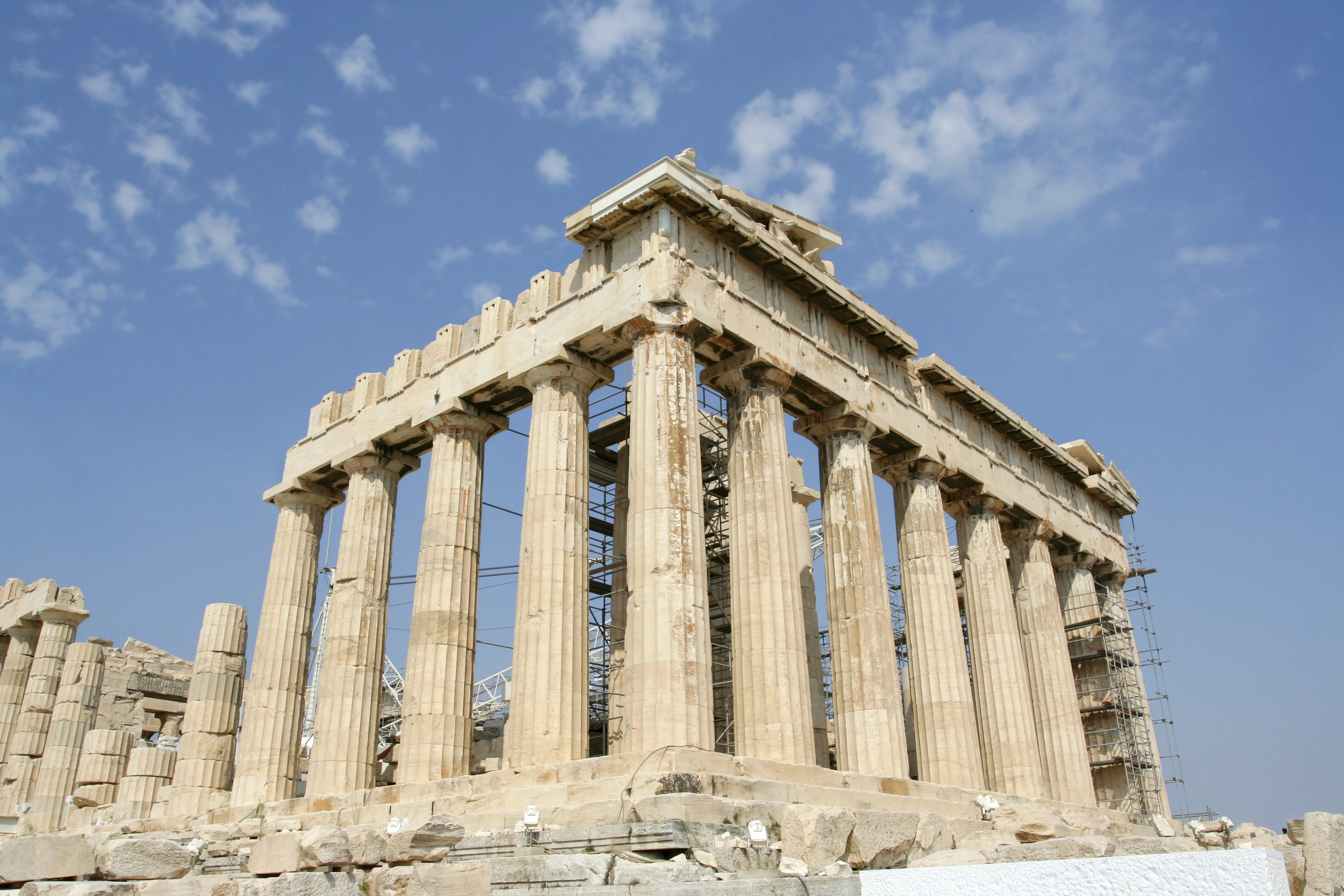 Touring the Acropolis in Athens, Greece by AESU, your ...