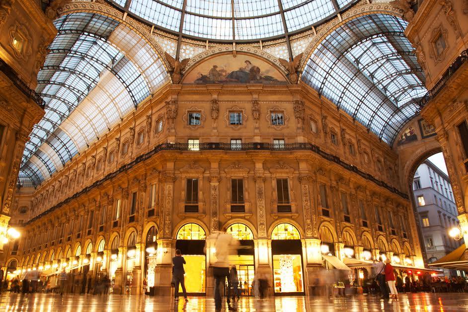 Vittorio Emanuele Ii Gallery Milan Italy