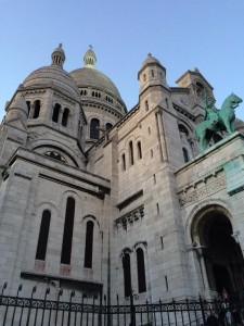 Churches Paris. France