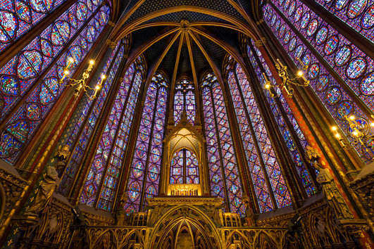 Famous Churches of Europe: Paris, France