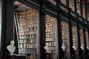 Visit the Trinity College Library in Dublin!