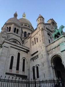 Churches Paris. France