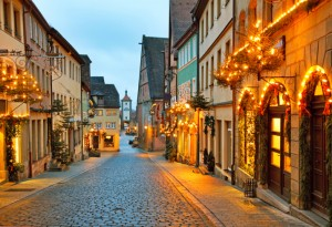 rothenburg romantic road Germany
