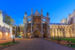 Traveling in the famous Westminster Abbey, London, United Kingdo