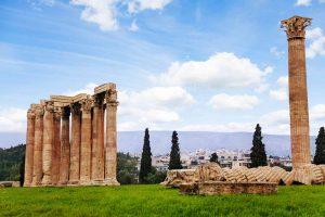 temple of zeus Athens, Greece
