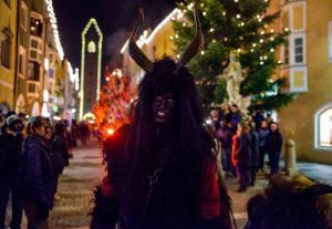 Krampusnacht  is celebrated every December 5!