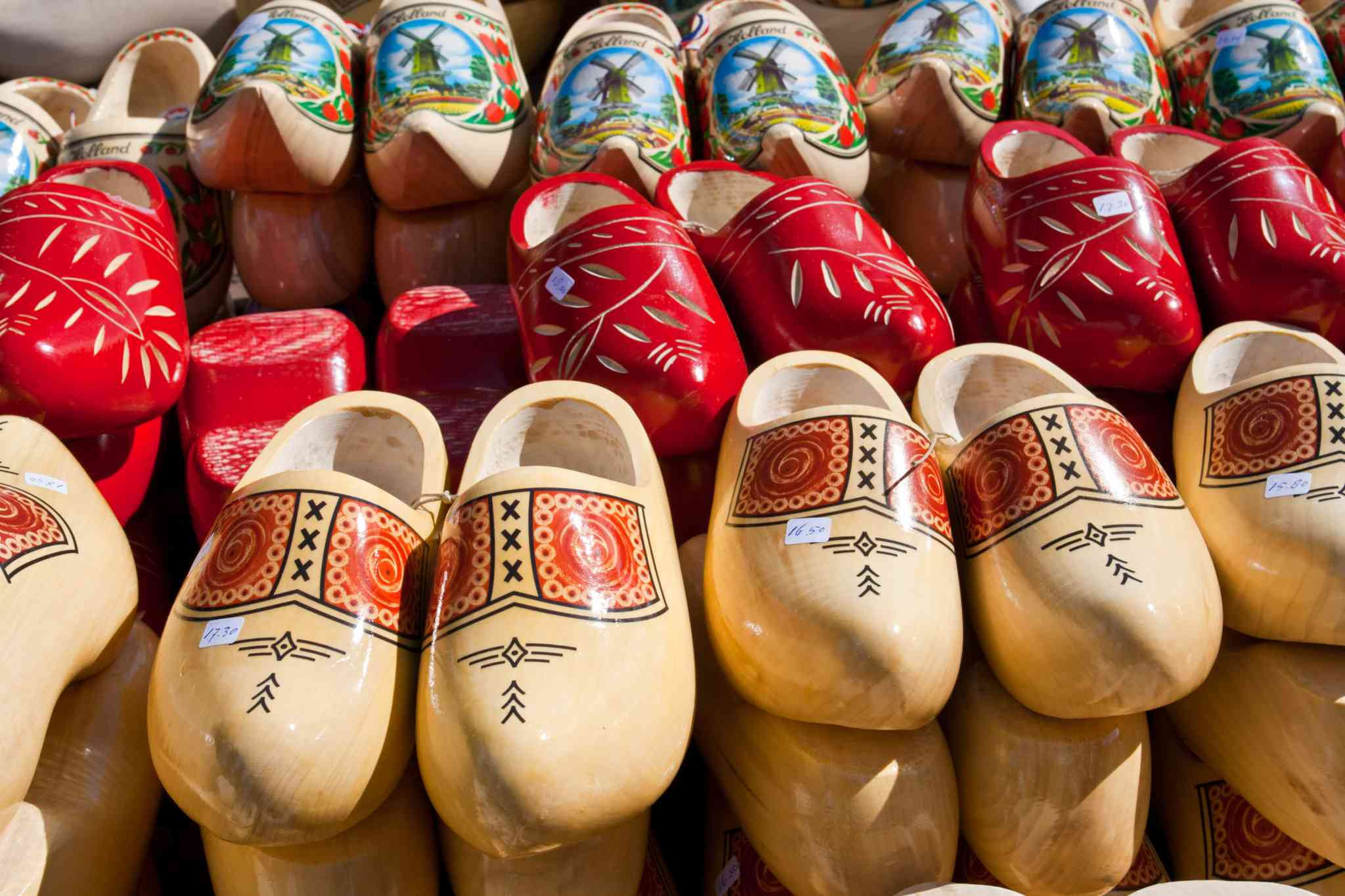 The Dutch And Their Wooden Clogs