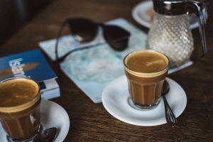 Enjoy a local espresso to beat the jet lag!
