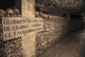 Explore the Paris Catacombs with AESU... if you dare!