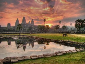 Explore Angkor Wat and other incredible temples with AESU!